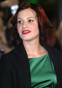 Franka Potente at the German premiere of