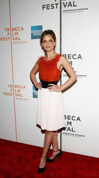 Sarah Michelle Gellar at the premiere of