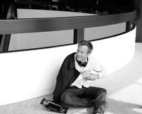 Director Spike Jonze on the set of