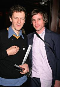 Spike Jonze and Michel Gondry at The 13th Annual Music Video Production Association Awards.