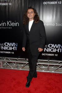 Alex Veadov at the New York premiere of