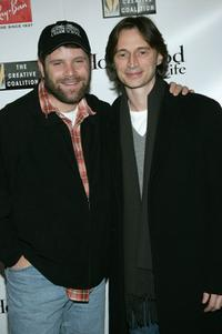 Sean Astin and Robert Carlyle at the 2005 Sundance Film Festival, attend the 2005 Ray Ban Visionary Award Hollywood Life After Party.