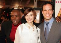 Ernie Hudson, Heather Burns and Diedrich Bader at the premiere of
