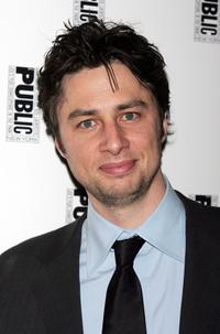 Zach Braff at the after party for