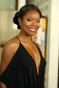 """Gabrielle Union at the premiere of """"Deliver Us from Eva"""" in Hollywood."""