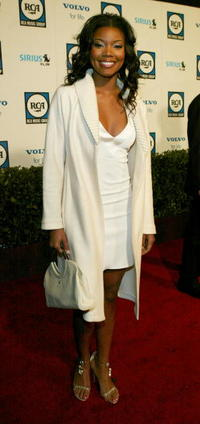 Gabrielle Union at Clive Davis' Pre-Grammy party in Beverly Hills.