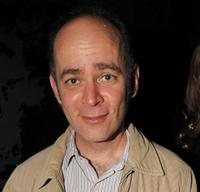 Todd Barry at the 2009 New Yorker Festival party.