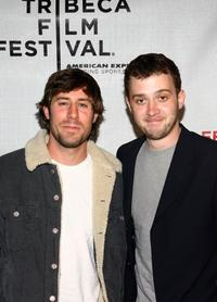 Josh Cooke and Eddie Kaye Thomas at the premiere of