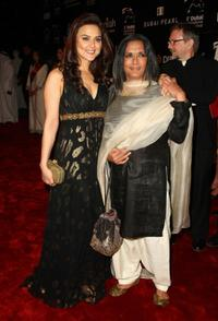 Preity Zinta and director Deepa Mehta at the 5th Annual Dubai International Film Festival.