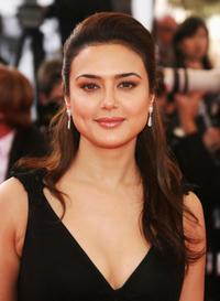 Preity Zinta at the premiere of