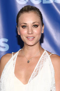 Kaley Cuoco at the 2011 CBS Upfront in New York.
