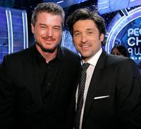 Eric Dane and Patrick Dempsey at the 33rd Annual People's Choice Awards.