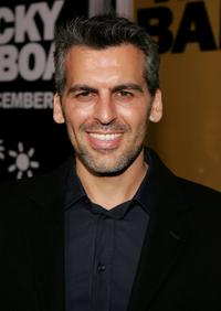 Oded Fehr at the Hollywood premiere of