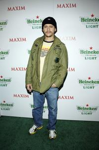Clifton Collins, Jr. at the Maxim's unveiling of the New Heineken Premium Light.