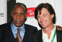 Danny Glover and Paul Turcotte at the ''Ghosts of Cite Soleil