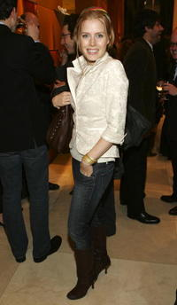 Amy Adams at The Celebration And Preview Of Michael Roberts Collection in New York City.