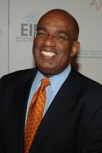 Al Roker at the Hollywood Meets Motown benefit.