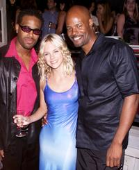 Shawn Wayans, Anna Faris and Keenan Ivory Wayans at the after party of the New York premiere of