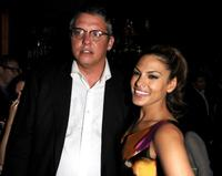 Adam McKay and Eva Mendes at the after party of the New York premiere of
