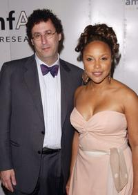 Tony Kushner and Lynn Whitfield at the 5th Annual AmFAR Honoring with Pride Gala.