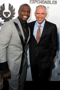 Terry Crews and Joe Drake at the California premiere of