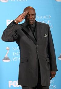 Louis Gossett, Jr. at the 38th Annual NAACP Image Awards.