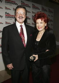 Robert Goulet and his wife Vera at the Wellness Community - West Los Angeles' Seventh Annual