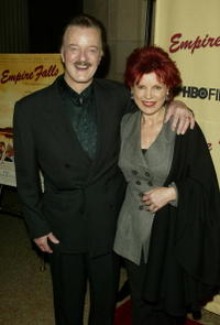 Robert Goulet and his wife at the premiere of