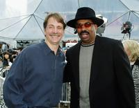 Jeff Foxworthy and Steve Harvey at the premiere of