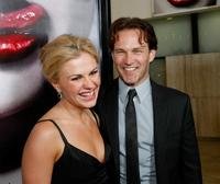 Anna Paquin and Stephen Moyer at the Los Angeles premiere of