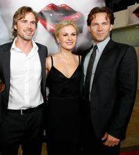 Sam Trammell, Anna Paquin and Stephen Moyer at the Los Angeles premiere of