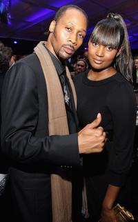 RZA and Talani at the after-party of the world premiere of