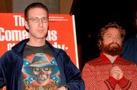 Director Michael Blieden and Zach Galifianakis at the special screening of