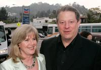 Tipper Gore and Al Gore at the Los Angeles premiere of