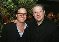 Davis Guggenheim and Al Gore at the afterparty premiere of
