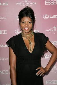 Taraji P. Henson at the Essence Black Women In Hollywood luncheon.