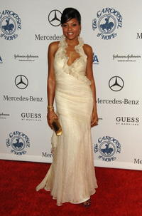 Taraji P. Henson at the 30th anniversary Carousel of Hope Ball to benefit the Barbara Davis center for childhood diabetes.