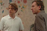 Michael Pitt as Paul and Tim Roth as George in