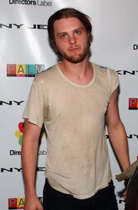 Michael Pitt at the party of DKNY Jeans Palm Pictures Director Label.