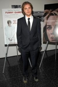 Michael Pitt at the special screening of