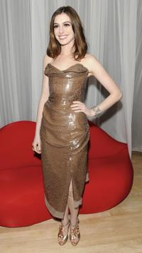 Anne Hathaway at the after party of the London premiere of