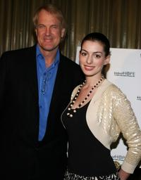 John Tesh and Anne Hathaway at the Kids of Hope Tsunami Relief Gala.