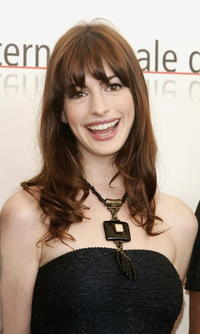 Anne Hathaway at the 62nd Venice Film Festival.