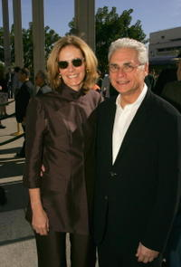 Julie Hagerty and husband Richard Kagan at the opening of