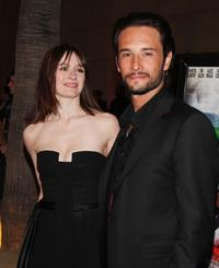 Emily Mortimer and Rodrigo Santoro at the special screening of