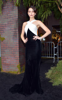 Emmy Rossum at the California premiere of