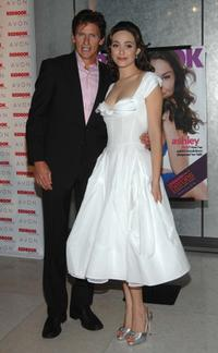 Denis Leary and Emmy Rossum at the Redbook's 2007 Strength and Spirit Awards.