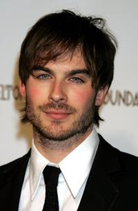 Ian Somerhalder at the 14th Annual Elton John Academy Awards viewing party.