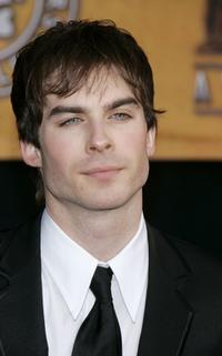 Ian Somerhalder at the 12th Annual Screen Actors Guild Awards.