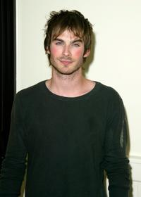 Ian Somerhalder at the WB Television Network Upfront All-Star Party.